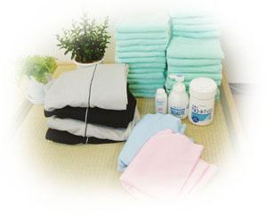 やすらぎ創健堂の施術用のタオル・備品の紹介
